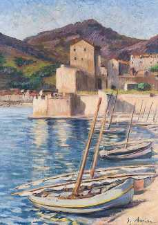 Assire -- Port de Collioure 1870